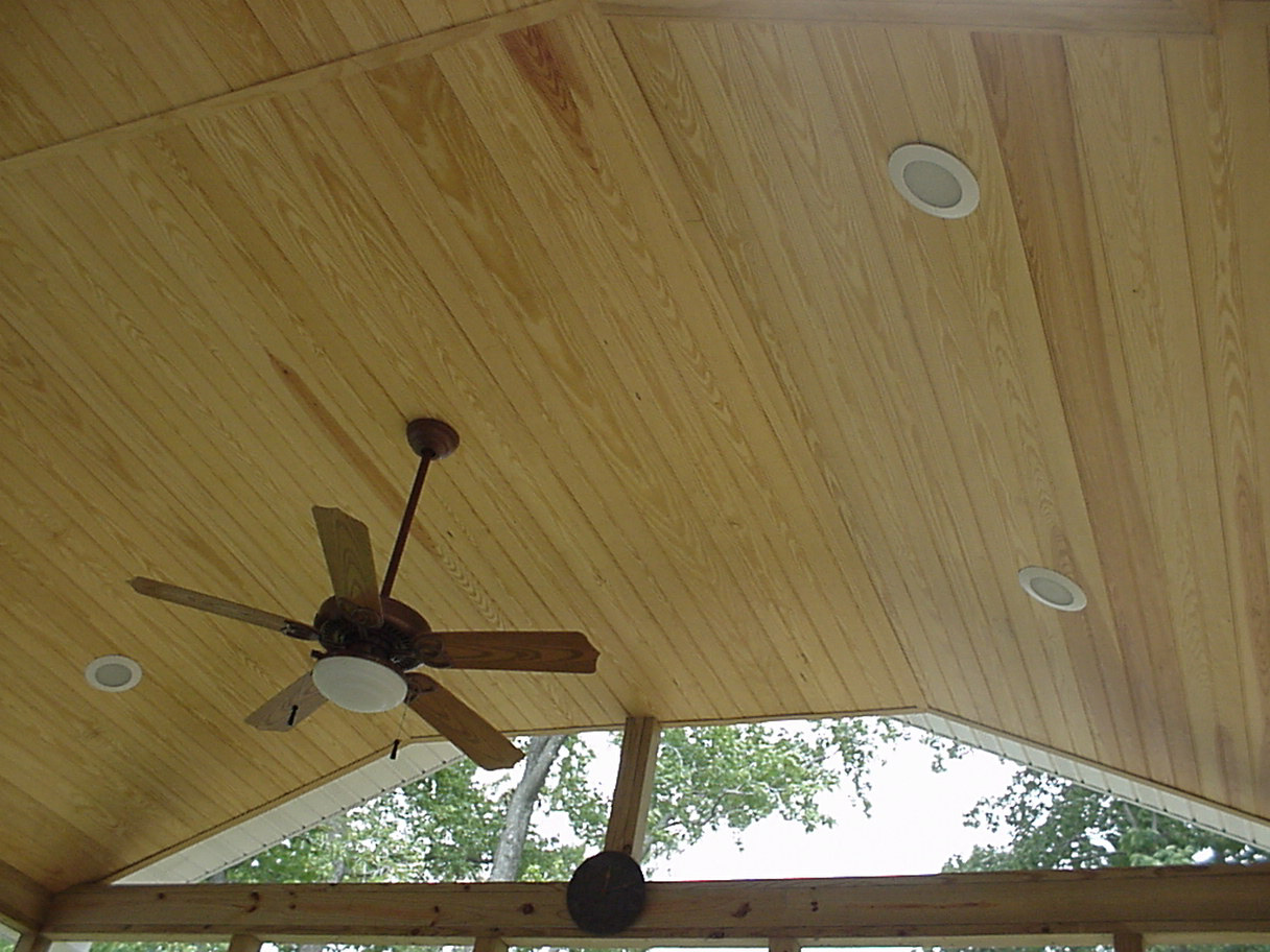 Tongue And Groove Patio Ceiling Icamblog
