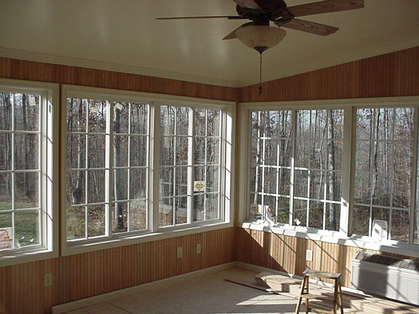 Smoot decks designs inc for Sunroom interior walls